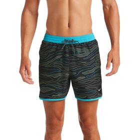 "Nike Swim JDI Camo 5 ""volley shorts Herrer, sort/grå"